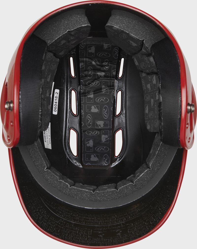Rawlings Velo Gloss Batting Helmet