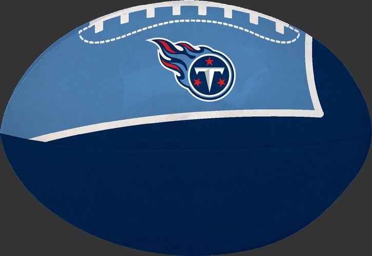 Navy and Blue NFL Tennessee Titans Football With Team Logo SKU #07831069114