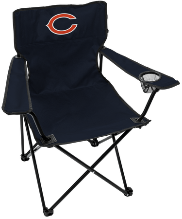 NFL Chicago Bears Gameday Elite Chair with team colors and logo on the back