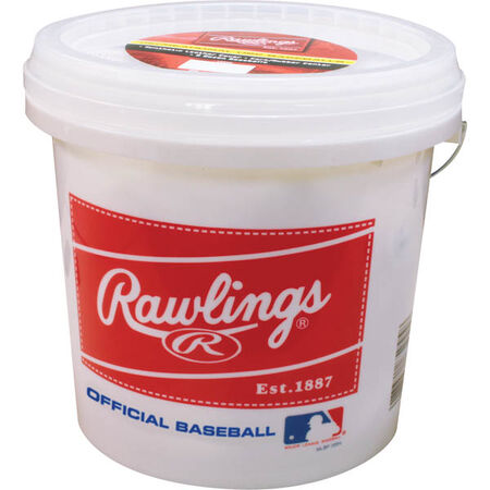 Bucket of 24 R8U Recreational Baseballs