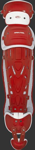 Pro Preferred Adult Leg Guards Scarlet