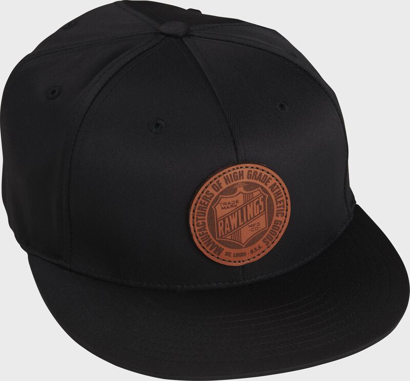 Rawlings Black Fitted Hat