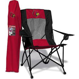 NCAA Louisville Cardinals High Back Chair