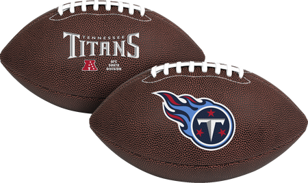 NFL Tennessee Titans Air-It-Out youth football with team logo