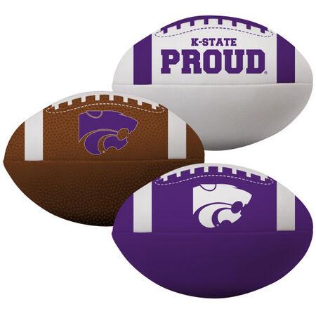 NCAA Kansas State Wildcats 3 Softee Football Set