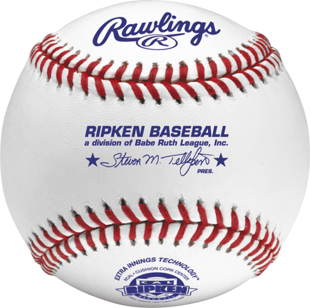 RCAL Cal Ripken youth tournament grade baseball with raised seams