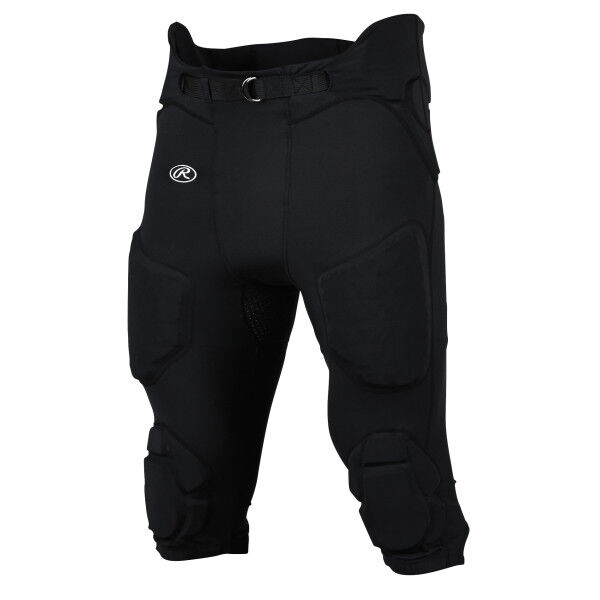 Youth Integrated Football Pant Black
