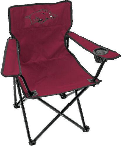 Front of Rawlings Cardinal NCAA Arkansas Razorbacks Gameday Elite Chair With Team Logo SKU #00563069111