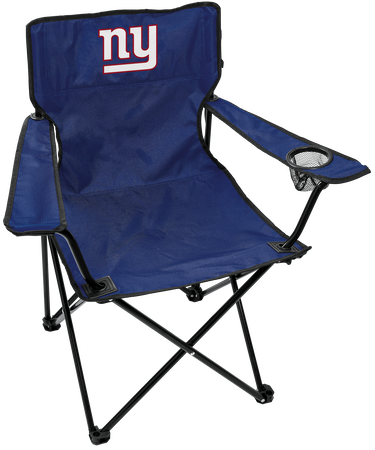 NFL New York Giants Gameday Elite Chair with team colors and logo on the back