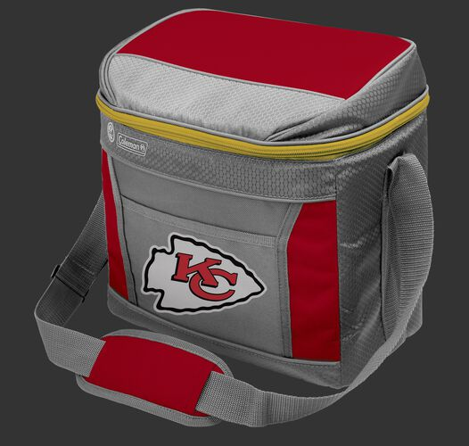 Rawlings Kansas City Chiefs 16 Can Cooler In Team Colors With Team Logo On Front SKU #03291071111