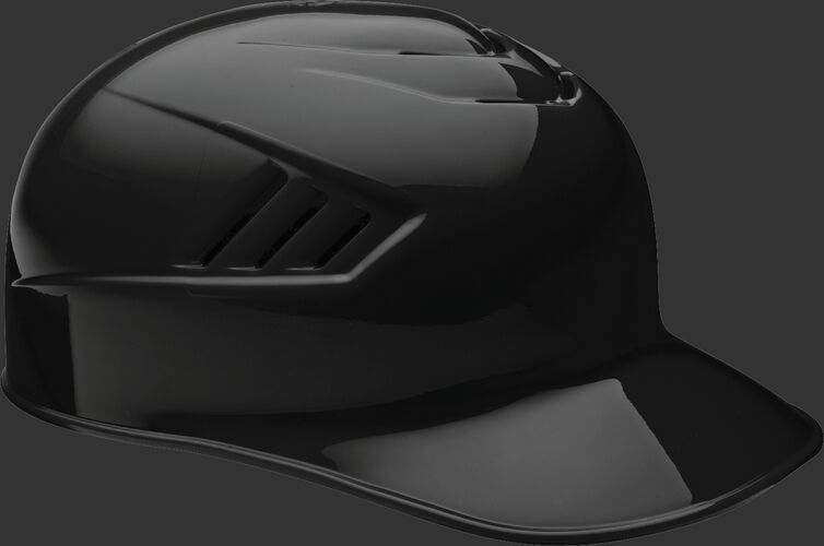A black CFPBH Coolflo adult base coach helmet with Coolflo vents