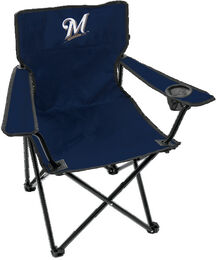 MLB Milwaukee Brewers Gameday Elite Quad Chair