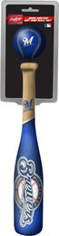 MLB Milwaukee Brewers Slugger Softee Mini Bat and Ball Set
