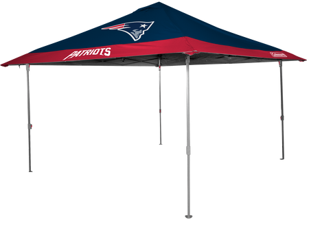 NFL New England Patriots 10x10 eaved canopy in team colors