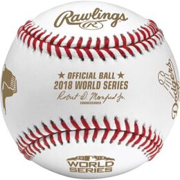 MLB 2018 World Series Dueling Baseball