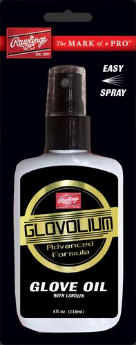 Rawlings Black and White Bottle of Glovolium Glove Treatment Spray SKU #SGOBP