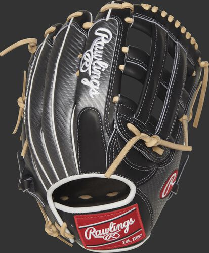 PRO3039-6BCF 12.75-inch Heart of the Hide outfield glove with a Hyper Shell back