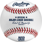 A 2020 MLB Puerto Rico Series baseball with the Official Major League Baseball stamp - SKU: ROMLBPRS20 image number null