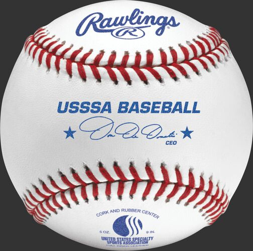 ROLB1USSSA USSSA youth competition grade baseball with raised seams