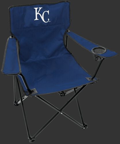 Front of Rawlings Blue MLB Kansas City Royals Gameday Elite Chair With Team Logo SKU #06110026111