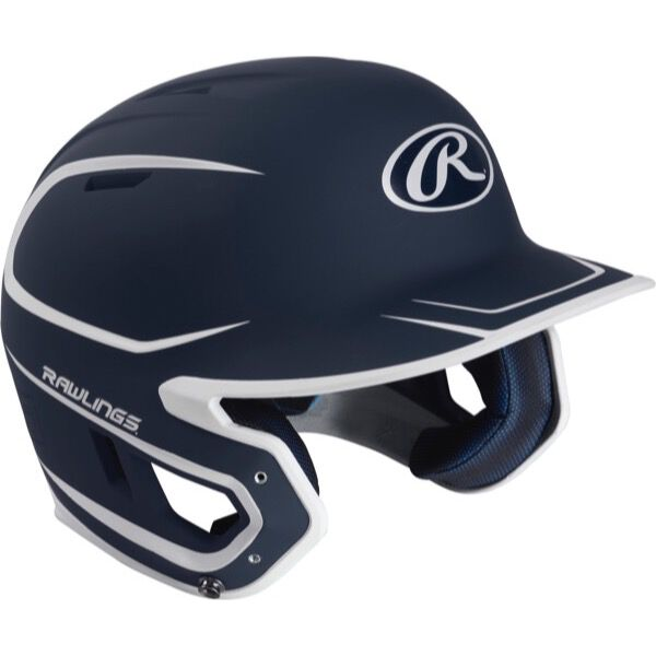 Mach Junior Two-Tone Matte Helmet Navy