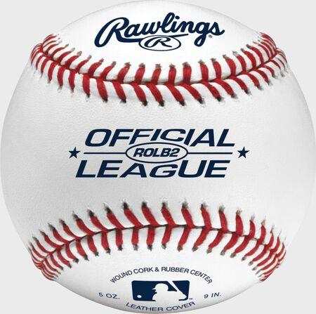 Official League 12U Practice Baseballs | 3 Pack, 6 Pack or Dozen