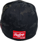 Rawlings Black Clover Diamond MultiCam Fitted Hat image number null