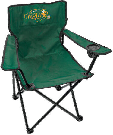 Front Of Rawlings Green NCAA North Dakota State Bison Gameday Elite Quad Chair With Team Logo On The Front SKU #00563158111