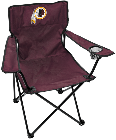 NFL Washington Redskins Gameday Elite Chair with team colors and logo on the back