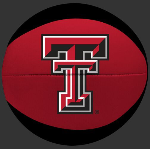 Rawlings Red and Black NBA Texas Tech Red Raiders Softee Basketball With Team Logo SKU #04433063111