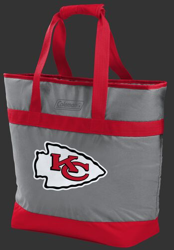 Rawlings Kansas City Chiefs 30 Can Tote Cooler In Team Colors With Team Logo On Front SKU #07571071111