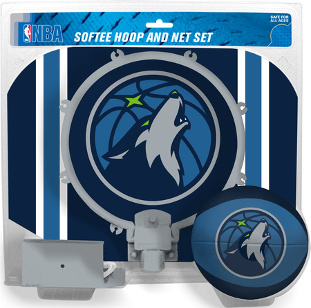 NBA Minnesota Timberwolves Softee Hoop Set