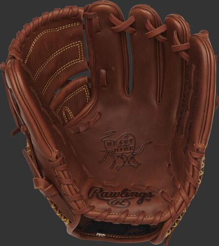 PRO205-9TIFS Rawlings 11.75-inch infield/pitchers glove with a timberglaze palm and tan laces