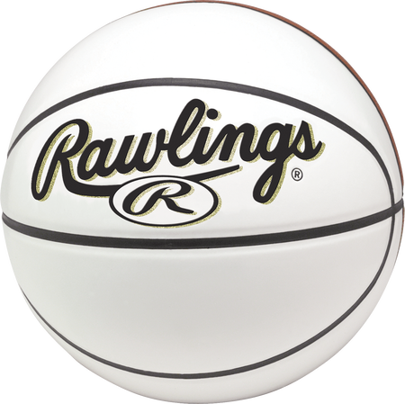 RPABB White 29.5-inch Autograph basketball
