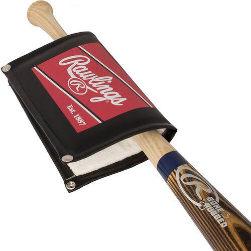PROPT Pro Pine Tar Applicator on a wood bat #PROPT