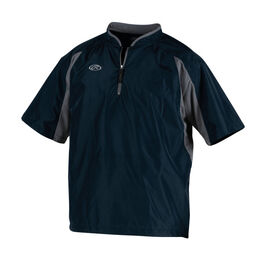 Adult Short Sleeve Jacket Navy