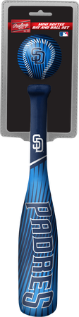 MLB San Diego Padres Slugger Softee Mini Bat and Ball Set