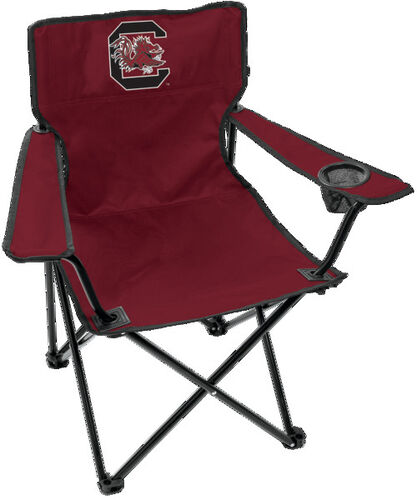 Front of Rawlings Garnet NCAA South Carolina Gamecocks Gameday Elite Chair With Team Logo SKU #00563098111