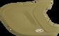 A matte Vegas gold MEXT Mach EXT batting helmet extension image number null