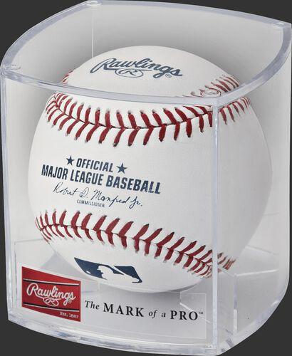 Rawlings Dozen Baseball Display Case With Brand Logo SKU #RBOF