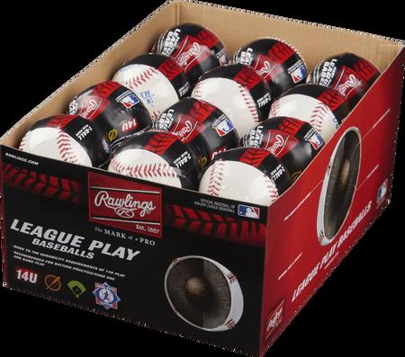 24 Pack Babe Ruth 14U League Play Baseballs