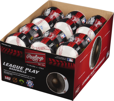 24 Pack Babe Ruth 14U League Play Baseballs