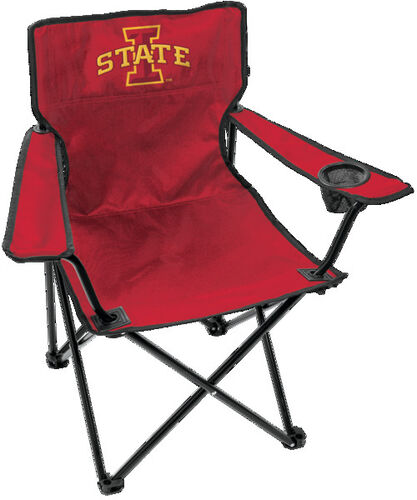 Front of Rawlings Cardinal NCAA Iowa State Cyclones Gameday Elite Chair With Team Logo SKU #00563031111