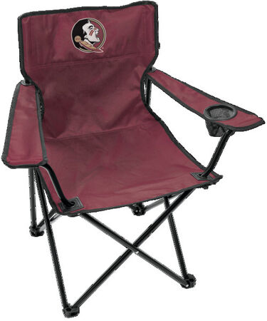 Front of Rawlings Garnet and Black NCAA Florida State Seminoles Gameday Elite Quad Chair With Team Logo SKU #00563020111