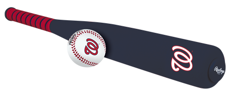 MLB Washington Nationals Foam Bat and Ball Set