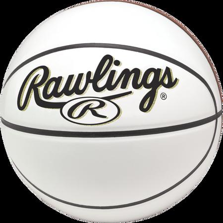 RPABB White 29.5-inch Autograph basketball