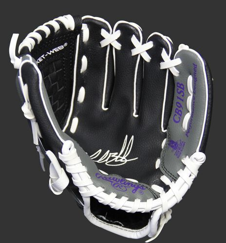 MLBPA Charlie Blackmon 9-inch player glove with a black palm