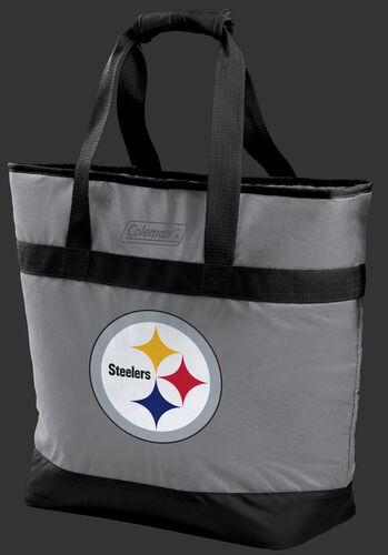 Rawlings Pittsburgh Steelers 30 Can Tote Cooler In Team Colors With Team Logo On Front SKU #07571082111