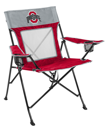 NCAA Ohio State Buckeyes Game Changer chair with the team logo