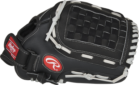 Thumb of a black RSB125GB RSB 12.5-Inch infield/outfield glove with a black Basket web